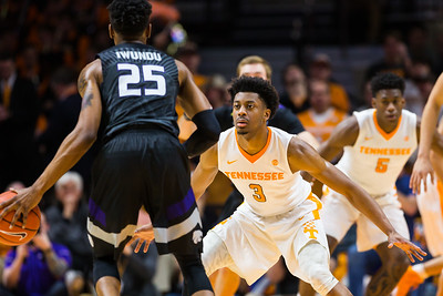 NCAA Basketball 2017: Kansas State vs Tennessee JAN 28