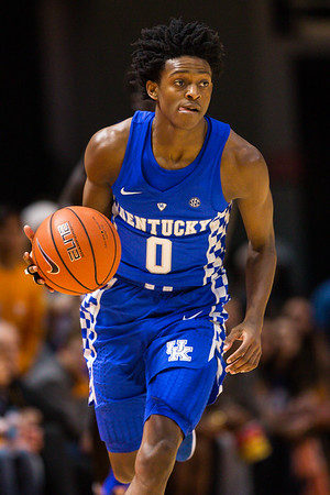 NCAA Basketball 2017: Kentucky vs Tennessee JAN 24