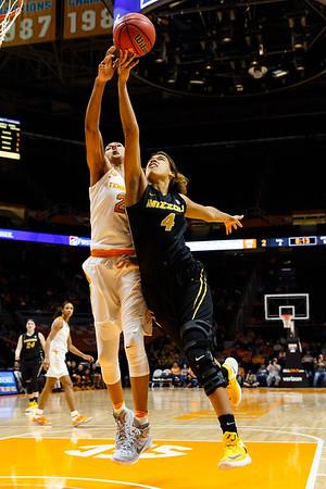 NCAA Basketball 2017: Missouri vs Tennessee FEB 09