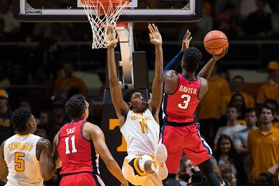 NCAA Basketball 2017: Ole Miss vs Tennessee FEB 08