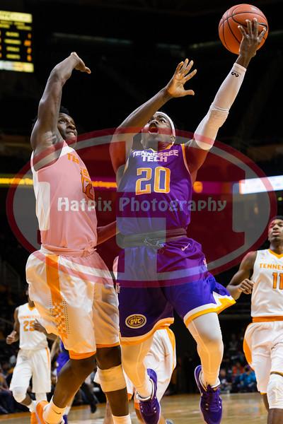 NCAA Basketball 2016: Tennessee Tech vs Tennessee DEC 13
