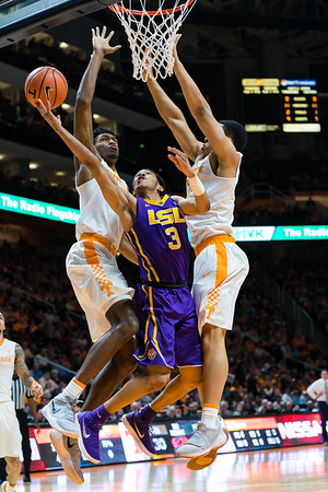 NCAA Basketball 2018: LSU vs Tennessee JAN 31