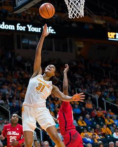 NCAA Basketball 2018: Ole Miss vs Tennessee JAN 25