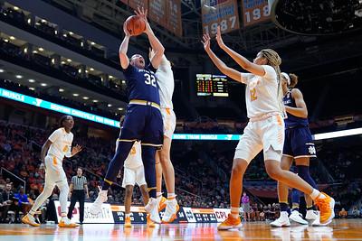 NCAA Basketball 2019: Notre Dame vs Tennessee JAN 24