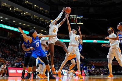NCAA Basketball 2018: UNC Asheville vs Tennessee NOV 14