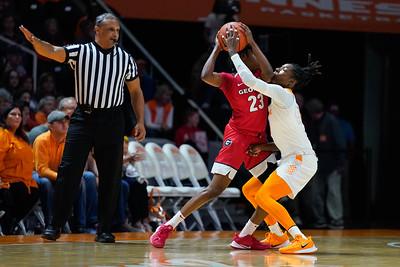NCAA Basketball 2020: Georgia vs Tennessee JAN 12