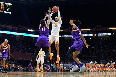 NCAA Basketball 2020: LSU vs Tennessee JAN 26