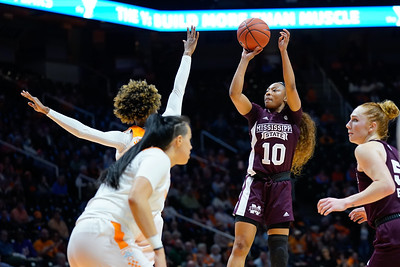 NCAA Basketball 2020: Mississippi State vs Tennessee FEB 06