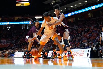 NCAA Basketball 2020: Texas A&M vs Tennessee FEB 16