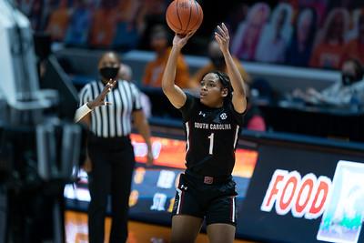 NCAA Basketball 2021: South Carolina vs Tennessee FEB 18
