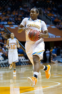 November 8, 2011: Ariel Massengale of University of Tennessee Lady Vols in action during the NCAA basketball game between the University of Tennesse  Lady Vols and Union Lady Bulldogs at Thompson Bowling Arena in Knoxville, TN