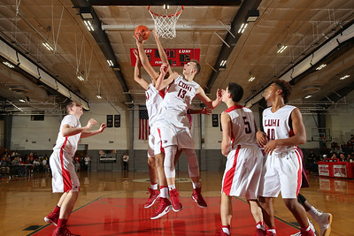 Curtis vs LI Lutheran Boys Basaketball. Photos by Chris Bergmann