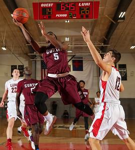 Curtis vs LI Lutheran Boys Basaketball. Photos by Chris Bergmann