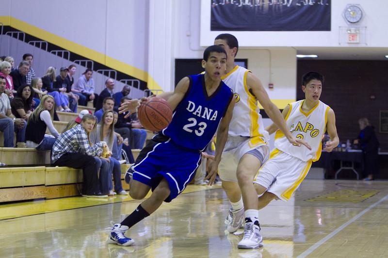 Dana Hills vs Capo Valley 2011