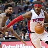 NBA: Denver Nuggets at Detroit Pistons