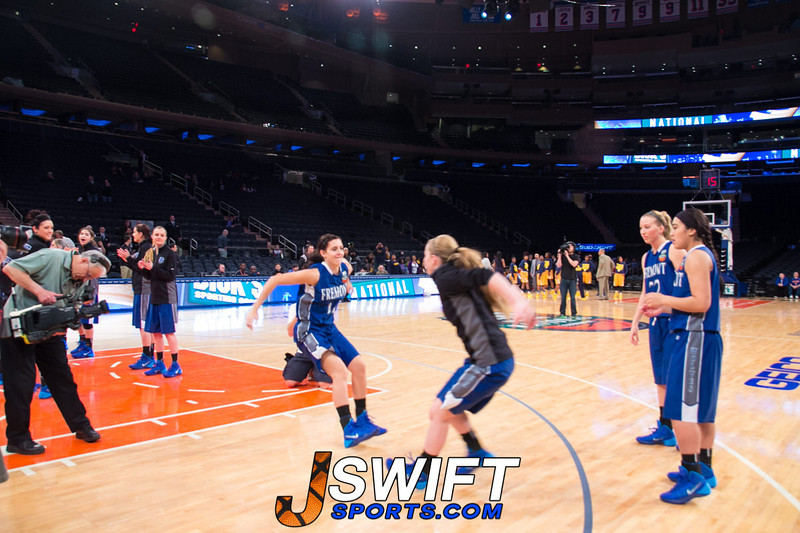 Dicks Sporting Goods High School National Tournament-Girls and Boys Championship at MSG (4.5.14)