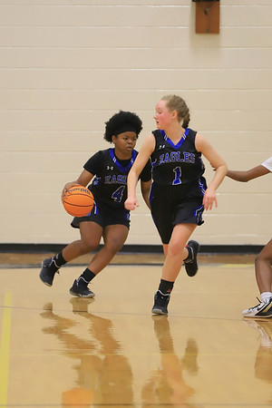 East Bladen vs Farmville 2020 girls basketball playoffs