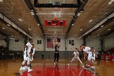 Elmont vs Hills East Boys Basketball. Photos by Chris Bergmann