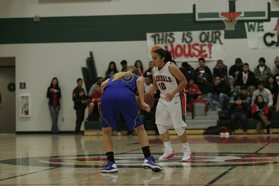 Christina Castro (10) drives the ball against Brooke Coates (00) when Lindsay played Exeter on