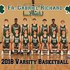 2018 FGR Varsity Mens Basketball Team 8x10