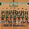 2018 FGR JV Mens Basketball Team 8x10