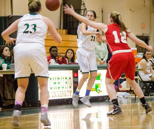 FSU Womens basketball v. WPI 12-8-15