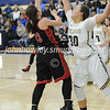High School Basketball<br /> Circleville 42 Teays Valley 37<br /> January 19 2018<br /> Shayna Hoop (Circleville), Sydney Williams (Teays Valley)