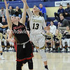 High School Basketball<br /> Circleville 42 Teays Valley 37<br /> January 19 2018<br /> Mallory Conner (Circleville), Skye Williams (Teays Valley)