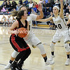 High School Basketball<br /> Circleville 42 Teays Valley 37<br /> January 19 2018<br /> Shayna Hoop (Circleville), Sydney Williams (Teays Valley), Paige Okuley (Teays Valley)