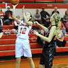 High School Basketball<br /> Fairfield Union 56, Logan Elm 43<br /> December 16, 2014<br /> Maggie Rhoads (Logan Elm)