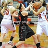High School Basketball<br /> Fairfield Union 56, Logan Elm 43<br /> December 16, 2014<br /> Courtney Bernard (Fairfield Union), Lauren VanHoose (Logan Elm)