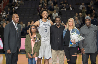 Reggie Cameron II, Georgetown Hoyas, Basketball