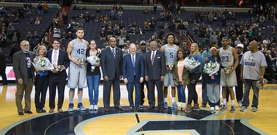 Rodney Pryor, Bradley Hayes, Reggie Cameron II, Georgetown Hoyas, Basketball