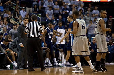 Jay Wright was to receive a technical foul