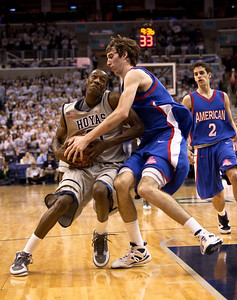 Jason Clark is guarded by Riley Grafft