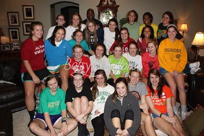 Girls Basketball Retreat 2011