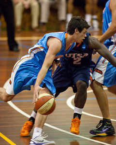 Jason Cadee - NBL Pre Season Basketball: Gold Coast Blaze v University of Texas San Antonio; Carrara, Gold Coast, Queensland, Australia. Photos by Des Thureson:  http://disci.smugmug.com.
