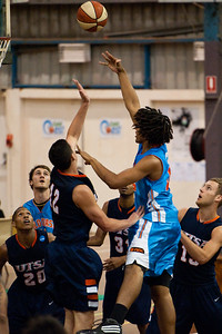 Keba Bhatti - NBL Pre Season Basketball: Gold Coast Blaze v University of Texas San Antonio; Carrara, Gold Coast, Queensland, Australia. Photos by Des Thureson:  http://disci.smugmug.com.