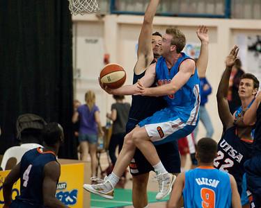 Gold Coast Blaze v University of Texas - San Antonio (UTSA) Basketball. Photos by Des Thureson - http://disci.smugmug.com
