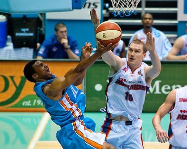 Gold Coast Blaze v Adelaide 36ers NBL Basketball; Queensland, Australia; Sunday 13 February 2011. Photos by Des Thureson:  http://disci.smugmug.com