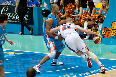 Gold Coast Blaze v Adelaide 36ers NBL Basketball; Queensland, Australia; Sunday 13 February 2011. Photos by Des Thureson:  http://disci.smugmug.com