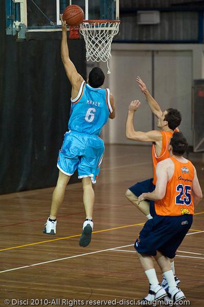 Bennett Davison - Gold Coast Blaze v Cairns Taipans pre-season NBL basketball game, Saturday 18 September 2010, Carrara, Gold Coast, Australia.