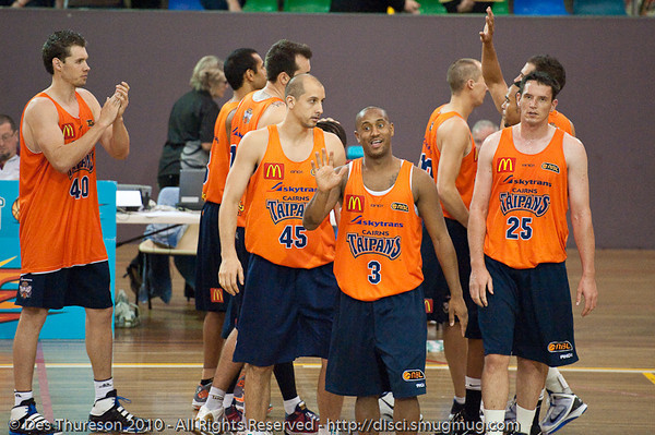 If you've made it this far, thanks so much for looking at my gallery. Regards, Des. - Gold Coast Blaze v Cairns Taipans pre-season NBL basketball game, Saturday 18 September 2010, Carrara, Gold Coast, Australia.