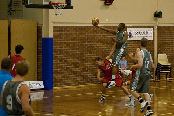 NBL Pre Season Basketball - Gold Coast Blaze v St Mary's College; 18 August 2009.