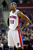 Dec 5, 2012; Auburn Hills, MI, USA; Detroit Pistons small forward Corey Maggette (50) during the second quarter against the Golden State Warriors at The Palace. Mandatory Credit: Tim Fuller-USA TODAY Sports