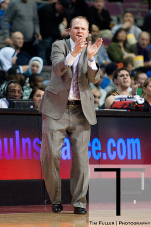 Dec 5, 2012; Auburn Hills, MI, USA; Detroit Pistons head coach Lawrence Frank during the second quarter against the Golden State Warriors at The Palace. Mandatory Credit: Tim Fuller-USA TODAY Sports