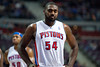 Dec 5, 2012; Auburn Hills, MI, USA; Detroit Pistons power forward Jason Maxiell (54) during the second quarter against the Golden State Warriors at The Palace. Mandatory Credit: Tim Fuller-USA TODAY Sports