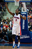 Dec 5, 2012; Auburn Hills, MI, USA; Detroit Pistons point guard Rodney Stuckey (3) during the fourth quarter against the Golden State Warriors at The Palace.The Warriors defeated the Pistons 104-97. Mandatory Credit: Tim Fuller-USA TODAY Sports
