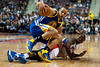 Dec 5, 2012; Auburn Hills, MI, USA; Golden State Warriors point guard Stephen Curry (30) and Detroit Pistons point guard Rodney Stuckey (3) battle for a loose ball during the third quarter at The Palace.The Warriors defeated the Pistons 104-97. Mandatory Credit: Tim Fuller-USA TODAY Sports