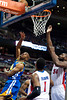 Dec 5, 2012; Auburn Hills, MI, USA; Golden State Warriors point guard Jarrett Jack (2) lays it up against the Detroit Pistons during the second quarter at The Palace. Mandatory Credit: Tim Fuller-USA TODAY Sports